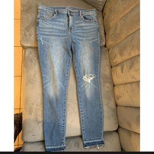 Skinny Curvy Jeans